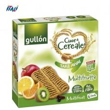 Печенье GULLON Takeaway Multifruta Fibra, 144 г