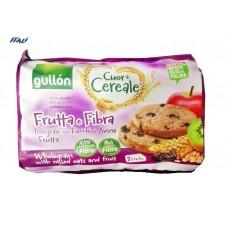 Печенье GULLON tube 2 Cuor di Cereale Fruta DMA pack2, 600 г