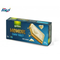 Печеньe Gullon Moment Choco Tablet White Chocolate 150 г