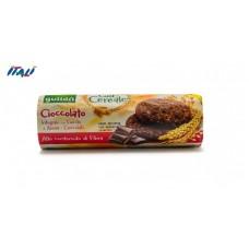 Печенье GULLON tube Cuor di Cereale  шоколадное, 280 г
