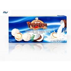 Вафельные шарики PAPAGENA, с кокосом, 120г