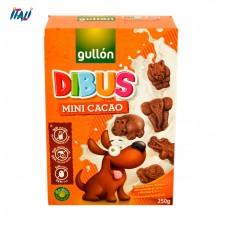Печенье GULLON Dibus Mini Cacao, 250г