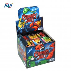 Желейные конфеты Creepy Jelly, 6 шт по11г