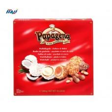Вафельные шарики PAPAGENA, микс орех + кокос , 300г