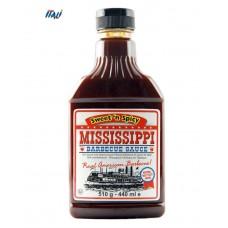 Соус BBQ Mississippi Sweet&spicy гостро-солодкий, 510г