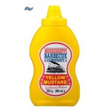 Гірчиця Mississippi Yellow Mustard, 255г