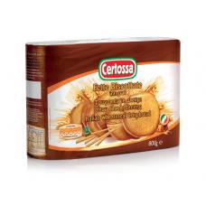Хлебцы — сухарики круглые для завтрака Fette Biscottate integrale Certossa Италия, 600 г