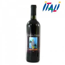 Вино красное Donna Italia vino rosso 11% 0,750мл
