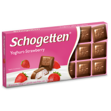 Шоколад Schogetten Yoghurt-Strawberry, 100 г