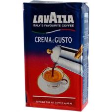 Молотый кофе Lavazza Crema e Gusto 250 g