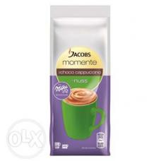 Капучино Jacobs Momente Nuss с шоколадом Milka 0,250