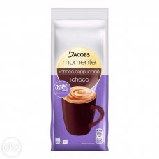 Капучино Jacobs Momente Cremig с шоколадом Milka 0.250g