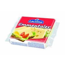 Плавленый тостерный сыр Lactima Emmentaler 130 г (8 ломтиков)