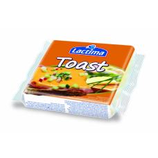 Плавленый тостерный сыр Lactima Toast 130 г (8 ломтиков)