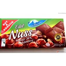 Шоколад Edel Nuss, 200 г
