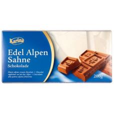 Шоколад Karina Edel Alpen Sahne 200г