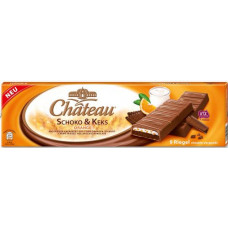 Шоколадные батончики Chateau Schoko & Keks Orange, 300гр