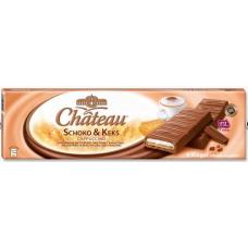 Шоколадные батончики Chateau Schoko & Keks Cappuccino, 300 гр.