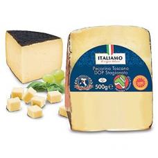 Italiamo Pecorino Toscano DOP Stagionato цена за 1шт 500г