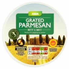 Сыр пармезан тертый ASDA Grated Parmesan 100g