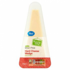 Сыр ASDA Smartprice Hard Cheese Wedge 170g