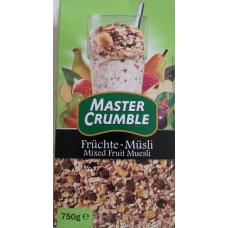 Früchte - Müsli - Master Crumble - 750 g