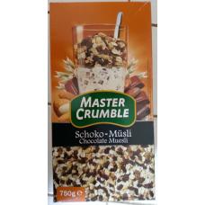 Schoko-Müsli / Chocolate Muesli - Master Crumble - 750 g