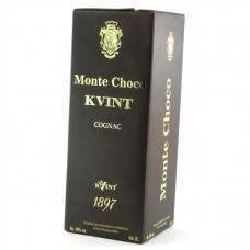 Коньяк Kvint Monte Choco в тетрапаке 40% 2л