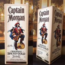 РОМ  / RUM CAPTAIN MORGAN TETRA PAK 2L ORIGINAL