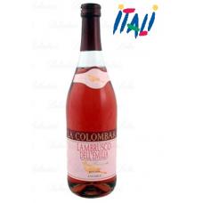 Вино розовое LAMBRUSCO LA COLOMBARA ROSATO 1,5L 8%