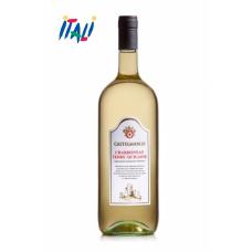 Вино белое сухое Chardonnay Terre Siciliane Castelmarco  1.5L