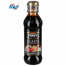 Соус Ponti Glassa gastronomica Глейзер с бальзамич.уксусом из Модены 250г