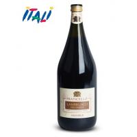 Вино игристое красное Lambrusco Praticello Dell`Emilia Amabile 1.5L.