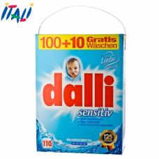 Стиральный порошок Dalli Sensitiv 7.15 kg (110 ст)
