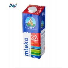 Молоко 3,2% LOWICZ Mleko 1 л