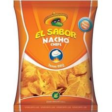 Чіпси EL SABOR NACHO texas bbq 100 гр