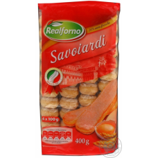 Печенье для тирамису Savoiardi Realforno, 400г