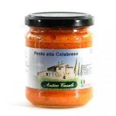 Соус Antico Casale Pesto alla calabrese 190г