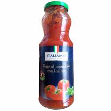 Томатный соус с базиликом Suga al pomodoro con basilico Italiamo 700 г