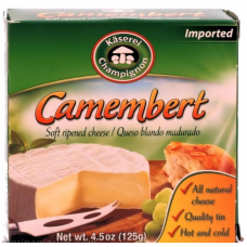 Camembert  cheese Kaserei Champignon  125g Germany