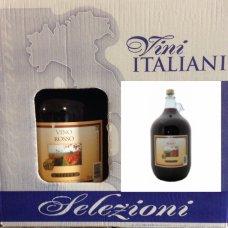 Вино Gielle 5л (красное сухое) цена за 1 ящик (2бут)