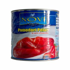 NOVI Pomidori Pelati 2,5kg помидоры без шкурки в собственном соку