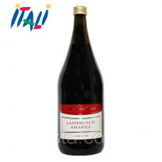 Вино красное Lambrusco Amabile Santa Chiara 9,5% 1,5л